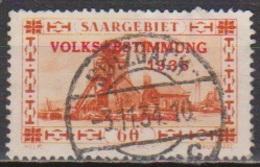Saarland 1934 MiNr.186 O Gest.Landschaftsbilder Volksabstimmung 1935 ( 8519 ) Günstige Versandkosten - Used Stamps