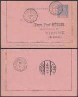 CONGO FR EP 25c DE BANGUI 06/08/1909 VERS VIENNE (6G18547) DC-MV530 - Brieven En Documenten