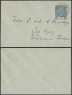 CONGO FR EP 15c DE BRAZZAVILLE VERS CAP LOPEZ (6G18547) DC-MV535 - Congo Français (1891-1960)