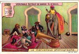 1006 - Liebig 6 Cards  C1910 Monkey Business-Phonographe-Circus-Musiciens-Carrousel Des Singes - Liebig