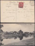 """CONGO CP DE BANGUI 1909 """"LE DOLISIE""""  (6G18547) DC-MV538 - Congo Français (1891-1960)"""