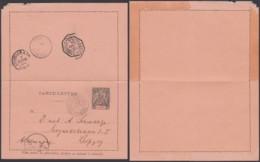 CONGO EP 25c DE CAP LOPEZ 24/01/1894 VERS ALLEMAGNE  (6G18547) DC-MV545 - Congo Français (1891-1960)