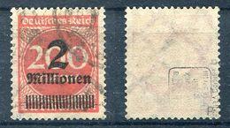 Deutsches Reich Michel-Nr. 309Pb Gestempelt - Geprüft - Deutschland
