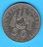 NOUVELLE CALEDONIE  - Pièce 50 Francs - 1972 - Nieuw-Caledonië