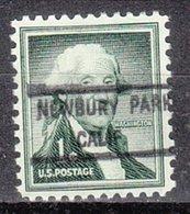 USA Precancel Vorausentwertung Preo, Locals California, Newberry Springs 825 - Vereinigte Staaten