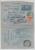 PR6262/ Entier Enveloppe-Lettre C.BXL 1950 V.Italie Firenze Griffe Trouvé...retour à L'envoyeur - Stamped Stationery
