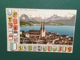 Cartolina Lurzen Und Die Alpen - 1902 - Cartoline