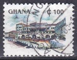 Ghana 1991 Wirtschaft Economy Tourismus Tourism Architektur Bauwerke Buidlings Cape Coast Castle, Mi. E1614 Gest. - Ghana (1957-...)