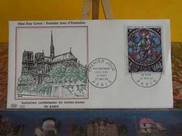 Notre Dame De Paris - Paris - 23.5.1964 FDC 1er Jour - Coté 9€ - 1960-1969