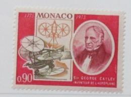 Monaco, 1973 The 200th Anniversary Of The Birth Of George Cayley, 1773-1857 - MNH - B-169 - Monaco