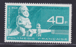 POLYNESIE AERIENS N°   12 ** MNH Neuf Sans Charnière, TB (D8407) Musée Gauguin, Statuette -1965 - Airmail