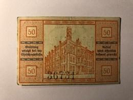 Allemagne Notgeld Pyritz 50 Pfennig - [ 3] 1918-1933 : République De Weimar
