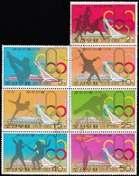 KOREA NORTH - Scott #1469@1474-1475 Montréal '76 Olympic Games / Sheet Of 7 Used Stamps (ss414) - Summer 1976: Montreal