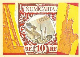 BOURSE SALON DE COLLECTIONS NUMICARTA  CARTE PIRATE  ILLUSTRATEUR J-M. CRESTO STATUE LIBERTE - Bourses & Salons De Collections