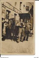 Café Etoile D'Or I0 - Photo Carte - Bières Piedboeuf - Attelage Livreur - A Identifier - Voir 2 Scans. - Cafés