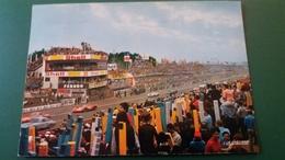 CPSM LE MANS 24 H LE DEPART DE LA GARNDE COURSE DES 24 HEURES ED LA CIGOGNE 1971 ANIMATION ANIMEE - Le Mans