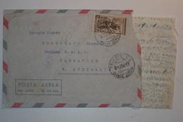 STORIA POSTALE ITALIA LETTERA CON ISOLATO 200 LIRE ITALIA AL LAVORO DA TRIESTE PER AUSTRALIA - 6. 1946-.. Repubblica