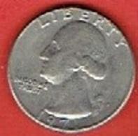"UNITED STATES  # ¼ Dollar ""Washington Quarter""  FROM 1971 - 1964-…: Kennedy"