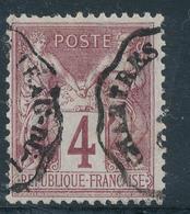 N°88 NUANCE ET OBLITERATION. - 1876-1898 Sage (Type II)