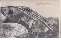 AK- C-421 -Weltkrieg 1914-1918  - Englischer Tank  In  Nöten - Ausrüstung