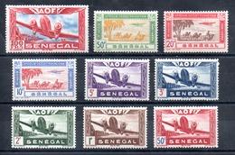 Sénégal  Senegal  Luftpost Y&T PA 22** - PA 30** - Luftpost