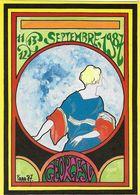 BOURSE SALON DE COLLECTIONS 1987 SALON GEORGES V CARTE PIRATE ILLUSTRATEUR ROBERT FARABOZ - Bourses & Salons De Collections