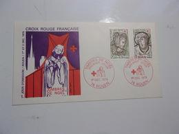 FRANCE (1979) CROIX ROUGE église Jeanne D'arc ROUEN - FDC