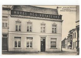Geel Gheel. Hôtel Des Voyageurs Propriétaire: Clément Verhulst-Knaeps 1910 - Geel