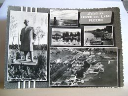 1958 - Lucca - Saluti Da Torre Del Lago Puccini - Vedute - Panorama - Monumento A Puccini - - Saluti Da.../ Gruss Aus...