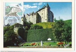 Carte Maximum DIEPPE - Le Château - Oblit. Spéciale Illustrée 1er Jour. - Cartoline Maximum