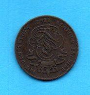 BELGIQUE - BELGIUM - Léopold 1er - Pièce 2 Cent - 1862 - 1831-1865: Leopold I