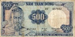 BILLET VIET NAM 500 NAM TRAM DONG - Viêt-Nam