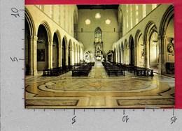 CARTOLINA VG ITALIA - NAPOLI - Basilica Di Santa Chiara - Interno - 10 X 15 - ANN. 1995 - Napoli