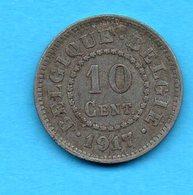 BELGIQUE - BELGIE - Pièce 10 Cent - 1917 - 1909-1934: Albert I