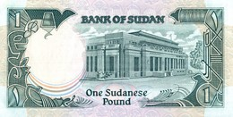 BILLET SOUDAN 1 SUDANESE POUND - Soudan