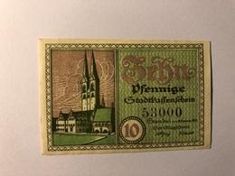 Allemagne Notgeld Stendal 10 Pfennig - [ 3] 1918-1933 : République De Weimar