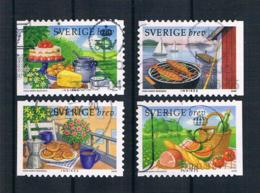 Schweden 2008 Essen Mi.Nr. 2646/49 Kpl. Satz Gest. - Schweden