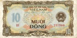 BILLET VIET NAM 10 MUOI DONG - Vietnam