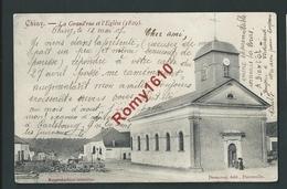 CHINY. La Grand'rue Et Eglise. Edit. Desaunoy. - Chiny