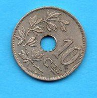 BELGIQUE - BELGIUM - Pièce 10 Centimes - 1901 -Léopold II - 04. 10 Centesimi