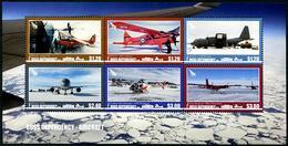 ROSS Dependency 2018 - Avions Et Hélicoptères, Antarctique - BF Neufs // Mnh - Neufs