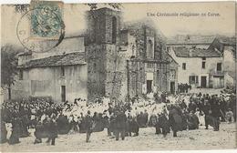Une Ceremonie Religieuse En Corse - France