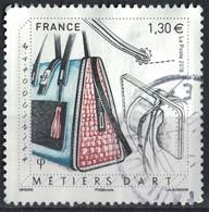 France 2018 Oblitéré Rond Used Métiers D'Art Maroquinerie Y&T 5209 SU - France