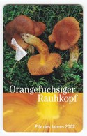 Télécarte De Jersey, Champignon  Mushrooom Cortinarius Orellanus - Télécartes