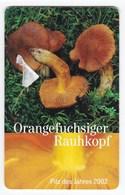 Télécarte De Jersey, Champignon  Mushrooom Cortinarius Orellanus Champignons Setas Pilze - Altri
