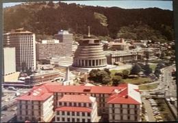 Ak Neuseeland - Wellington - Panorama - Parlamentsgebäude - Neuseeland