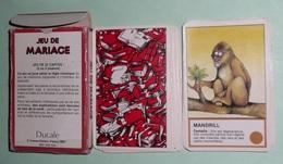 Rare 1987 Jeu De Cartes De Mariage Des Animaux, Familles Paires - Jeux De Société