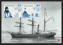 ROSS Dependency 2012 - Course Vers Le Pole, Bateaux, Expo Philatélique - BF Neuf // Mnh - Unused Stamps