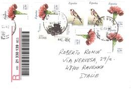 LETTERA X ITALY Con Fiori E Uccelli - 1931-Oggi: 2. Rep. - ... Juan Carlos I