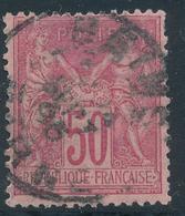 N°104 NUANCE ET OBLITERATION. - 1898-1900 Sage (Type III)